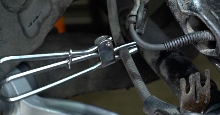 Bytte AUDI A6 1.9 TDI Bremsecaliper: Veiledninger og videoer på nettet