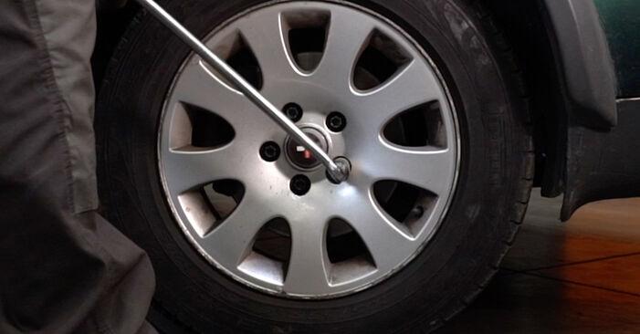 Slik bytter du AUDI A6 Avant (4B5, C5) 2.5 TDI quattro 1998 Bremsecaliper selv – trinn-for-trinn veiledninger og videoer