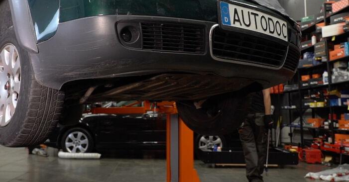 Bytte Audi A6 C5 Avant 1.9 TDI 1999 Bremsecaliper: gratis verkstedsveiledning