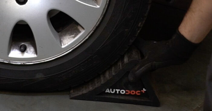Bytte A6 Avant (4B5, C5) 1.8 T 1999 Bremsecaliper – gjør det selv med vår veiledning