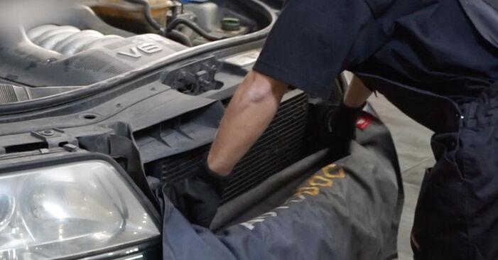 Wie Luftfilter AUDI A6 Avant (4B5, C5) 1.9 TDI 1998 austauschen - Schrittweise Handbücher und Videoanleitungen