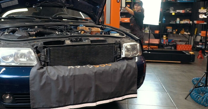 Audi A6 C5 Avant 1.9 TDI 1999 Étrier De Frein remplacement : manuels d'atelier gratuits