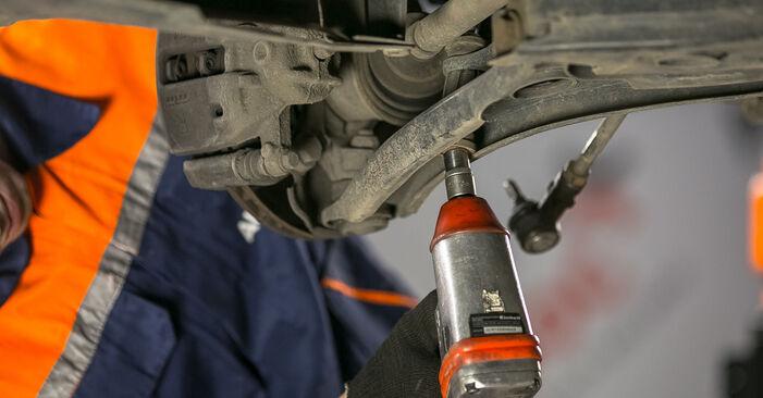 Querlenker Ihres Mitsubishi Colt Z30 1.3 2010 selbst Wechsel - Gratis Tutorial