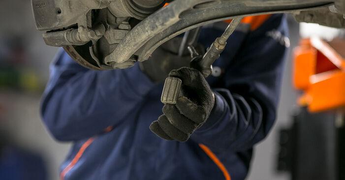 Austauschen Anleitung Querlenker am Mitsubishi Colt Z30 2012 1.3 selbst