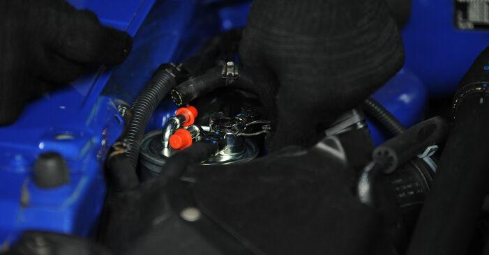 Kraftstofffilter Ihres Lupo 3L 1.2 TDI 3L 1998 selbst Wechsel - Gratis Tutorial