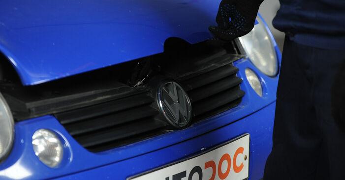 Tausch Tutorial Kraftstofffilter am VW Lupo (6X1, 6E1) 2002 wechselt - Tipps und Tricks