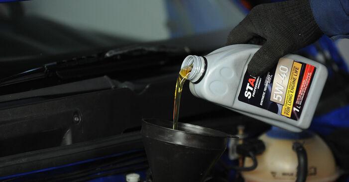 Wie VW LUPO 1.4 TDI 2002 Ölfilter ausbauen - Einfach zu verstehende Anleitungen online