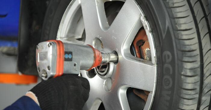 Tausch Tutorial Koppelstange am VW Lupo (6X1, 6E1) 2002 wechselt - Tipps und Tricks