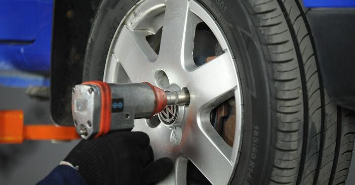 Wechseln Koppelstange am VW Lupo (6X1, 6E1) 1.4 16V 2001 selber