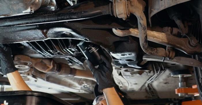 A4 Limousine (8D2, B5) 1.8 T quattro 1997 1.9 TDI Ölfilter - Handbuch zum Wechsel und der Reparatur eigenständig