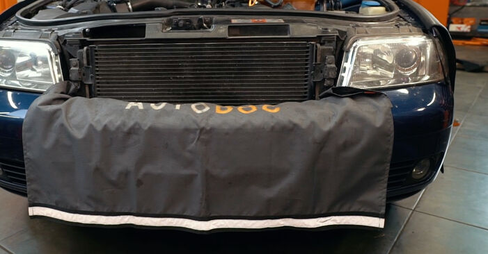 Wie Ölfilter AUDI A4 Limousine (8D2, B5) 1.9 TDI 1995 austauschen - Schrittweise Handbücher und Videoanleitungen