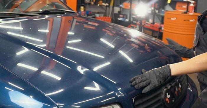 Austauschen Anleitung Ölfilter am Audi A4 B5 1996 1.6 selbst