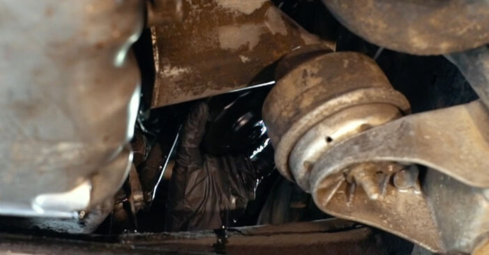 Ölfilter beim AUDI A4 2.5 TDI 2001 selber erneuern - DIY-Manual