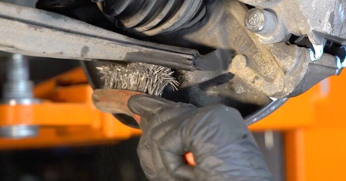 Wie man Traggelenk am VW Lupo (6X1, 6E1) 2002 ersetzt - Hinweise und Ratschläge