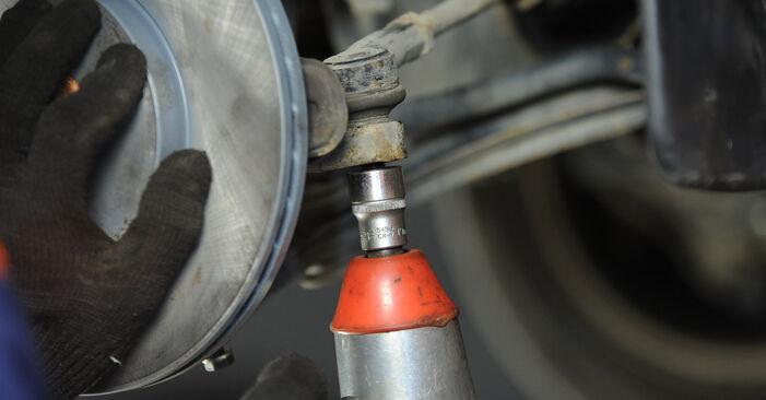 Wechseln Sie Traggelenk beim VW Lupo (6X1, 6E1) 1.4 16V 2001 selbst aus
