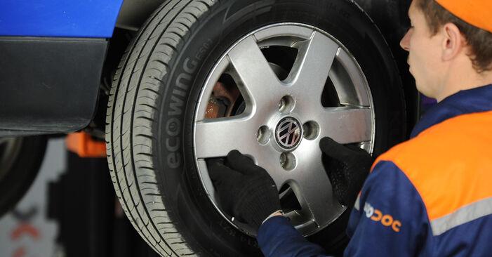 Wie man VW LUPO 1.4 TDI 2002 Traggelenk austauscht - Eingängige Anweisungen online