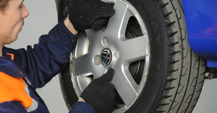 Modifica Cuscinetto Ruota su VW Lupo (6X1, 6E1) 1.4 16V 2001 da solo