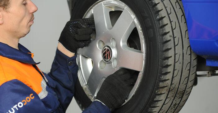 Come rimuovere VW LUPO 1.4 TDI 2002 Cuscinetto Ruota - istruzioni online facili da seguire
