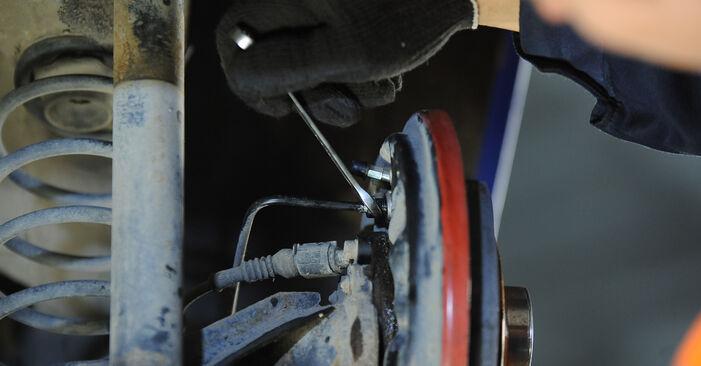 Tausch Tutorial Radbremszylinder am VW Lupo (6X1, 6E1) 2002 wechselt - Tipps und Tricks