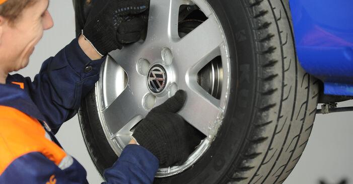Wechseln Radbremszylinder am VW Lupo (6X1, 6E1) 1.4 16V 2001 selber