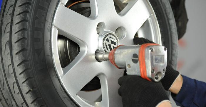 Смяна на VW Lupo 6x1 1.0 2000 Комплект спирачна челюст: безплатни наръчници за ремонт