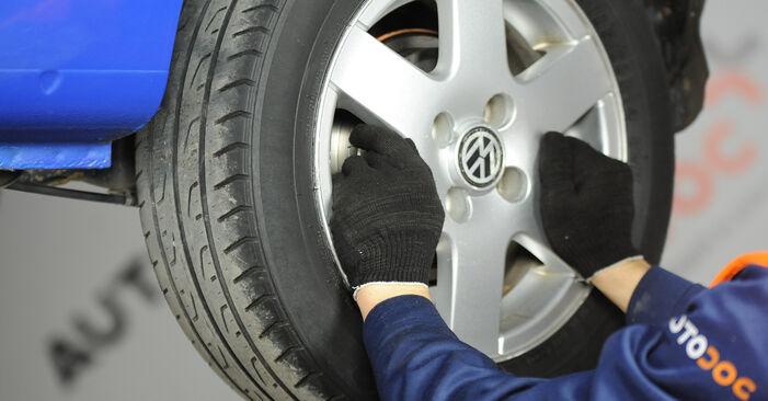 Tausch Tutorial Bremstrommel am VW Lupo (6X1, 6E1) 2002 wechselt - Tipps und Tricks