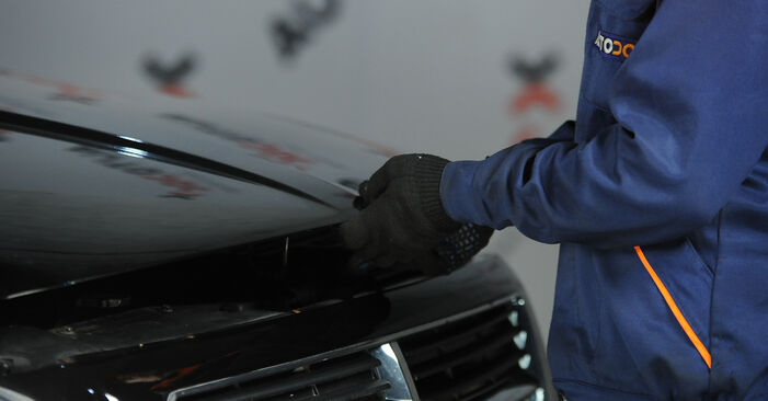 Tausch Tutorial Domlager am VW Lupo (6X1, 6E1) 2002 wechselt - Tipps und Tricks