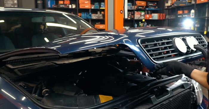 Wie Innenraumfilter Audi A4 B5 1.6 1994 tauschen - Kostenlose PDF- und Videoanleitungen