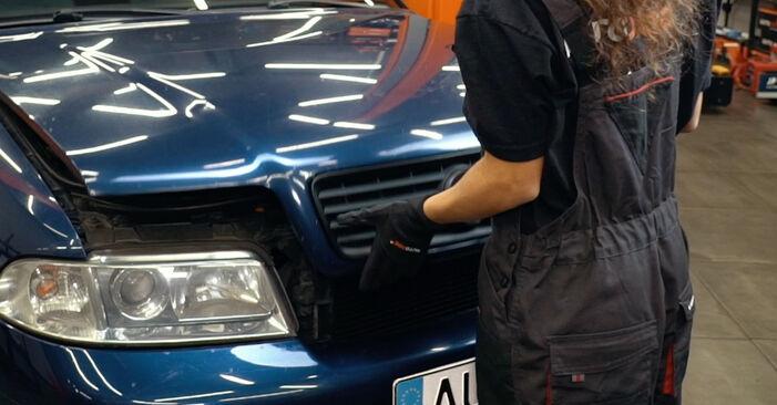 Zweckdienliche Tipps zum Austausch von Innenraumfilter beim AUDI A4 Limousine (8D2, B5) 1.8 2000