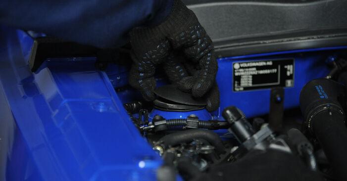 Tausch Tutorial Federn am VW Lupo (6X1, 6E1) 2002 wechselt - Tipps und Tricks
