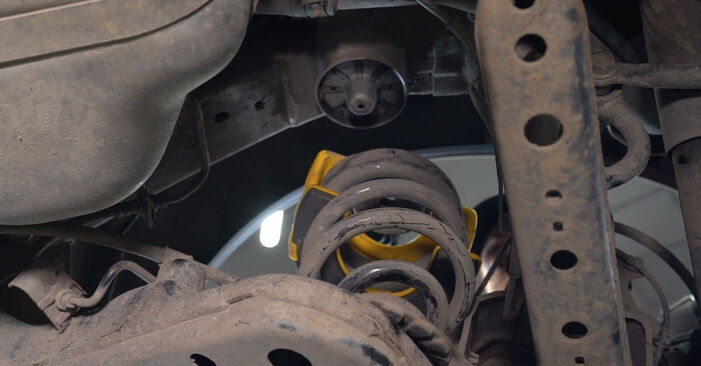 Zweckdienliche Tipps zum Austausch von Federn beim VW Lupo (6X1, 6E1) 1.4 2004