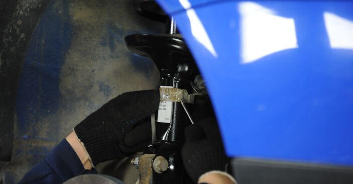 Federn am VW Lupo (6X1, 6E1) 1.7 SDI 2003 wechseln – Laden Sie sich PDF-Handbücher und Videoanleitungen herunter