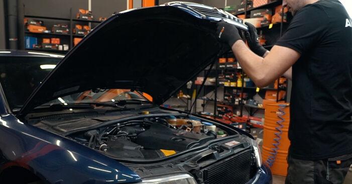 Comment changer Amortisseurs sur Audi A4 B5 1994 - Manuels PDF et vidéo gratuits