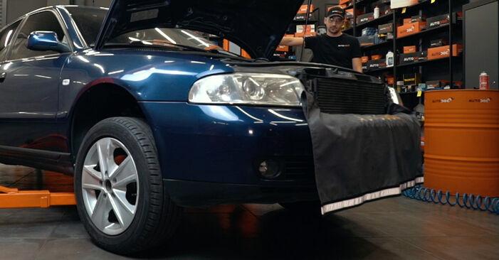 Audi A4 B5 1.9 TDI 1996 Amortisseurs remplacement : manuels d'atelier gratuits