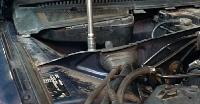 À quel point est-il difficile de le faire soi-même : télécharger le guide illustré pour le changement de Amortisseurs sur Audi A4 B5 S4 2.7 quattro 2000