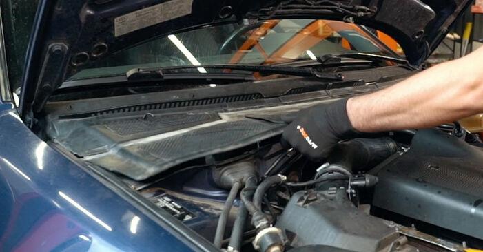 AUDI A4 2001 Amortisseurs manuel de remplacement étape par étape
