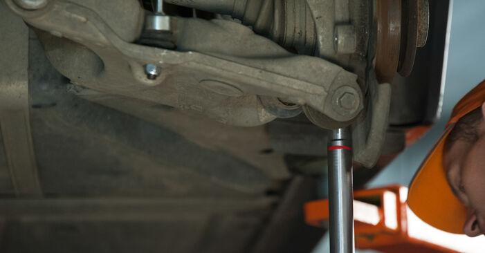 Bytte Hjullager på BMW E60 2001 530d 3.0 alene