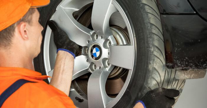 Hvordan skifte Hjullager på BMW 5 Sedan (E60) 2003 – tips og triks