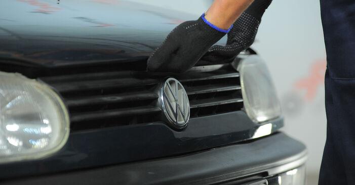 Zweckdienliche Tipps zum Austausch von Federn beim VW GOLF III (1H1) 1.8 1997