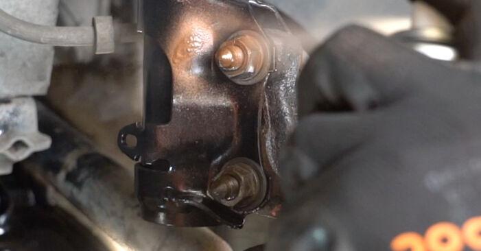 Federn beim VW GOLF 1.4 1998 selber erneuern - DIY-Manual