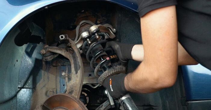 Austauschen Anleitung Federn am Audi A4 B5 1996 1.6 selbst