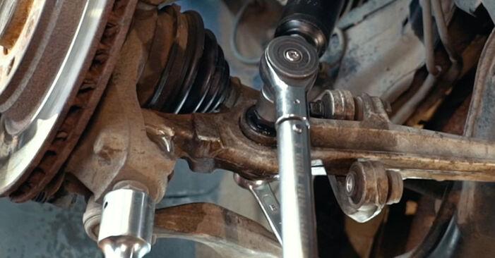 A4 Limousine (8D2, B5) 1.8 T quattro 1997 1.9 TDI Federn - Handbuch zum Wechsel und der Reparatur eigenständig
