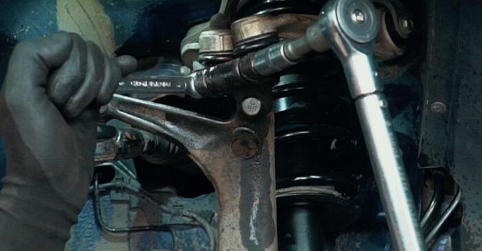 Schritt-für-Schritt-Anleitung zum selbstständigen Wechsel von Audi A4 B5 1999 1.8 T quattro Federn