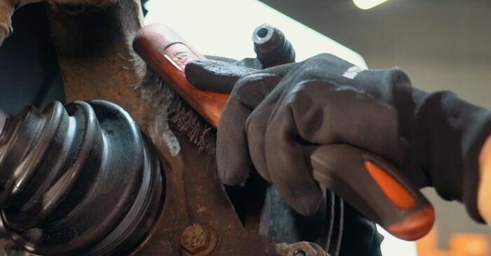 AUDI A4 1.9 TDI Bremsscheiben ausbauen: Anweisungen und Video-Tutorials online