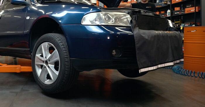 Schritt-für-Schritt-Anleitung zum selbstständigen Wechsel von Audi A4 B5 1999 1.8 T quattro Achsmanschette