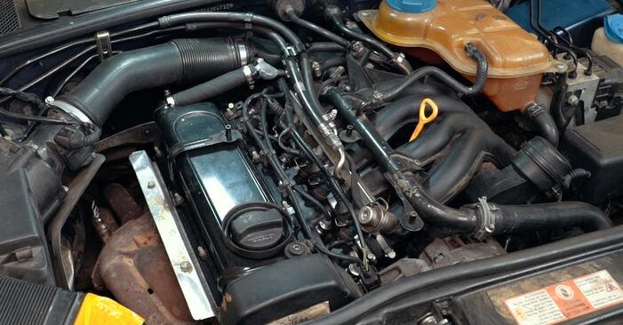A4 Limousine (8D2, B5) 1.8 T quattro 1997 1.9 TDI Zündkerzen - Handbuch zum Wechsel und der Reparatur eigenständig