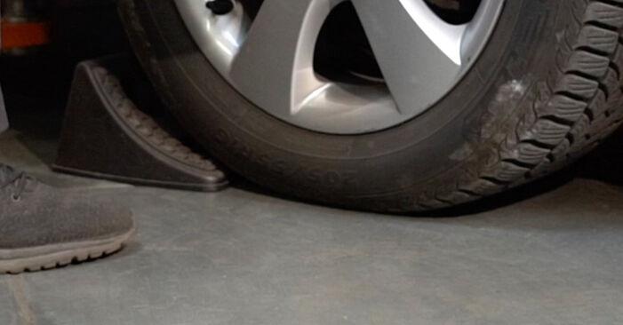 Hvordan skifte Støtdemper på Dodge Caliber SRT4 2006 – gratis PDF- og videoveiledninger