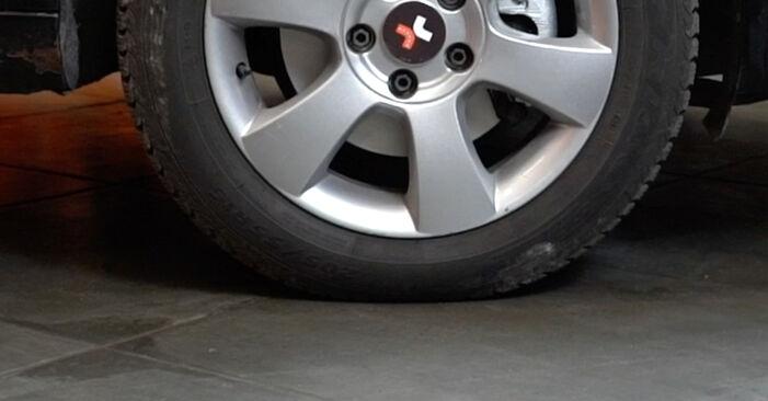 Bytte Dodge Caliber SRT4 1.8 2008 Støtdemper: gratis verkstedsveiledning