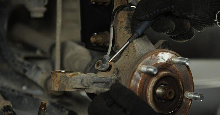 Radlager Dodge Caliber SRT4 2.0 2008 wechseln: Kostenlose Reparaturhandbücher