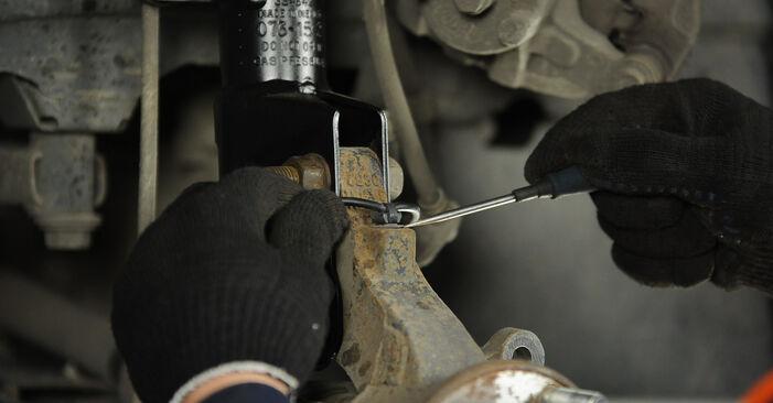 Wechseln Radlager am DODGE CALIBER 2.4 Turbo 2009 selber